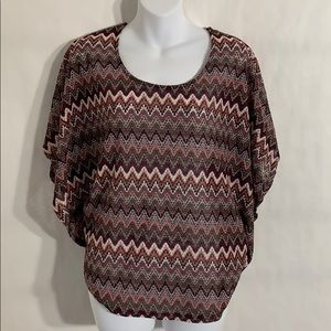 Charlotte Russe Business Casual Pancho Blouse !